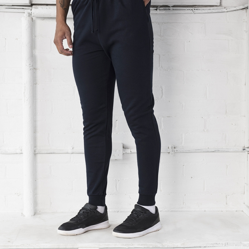 Mens Jogging Bottoms AWDIS Just Hoods Tapered Track Pant JH074